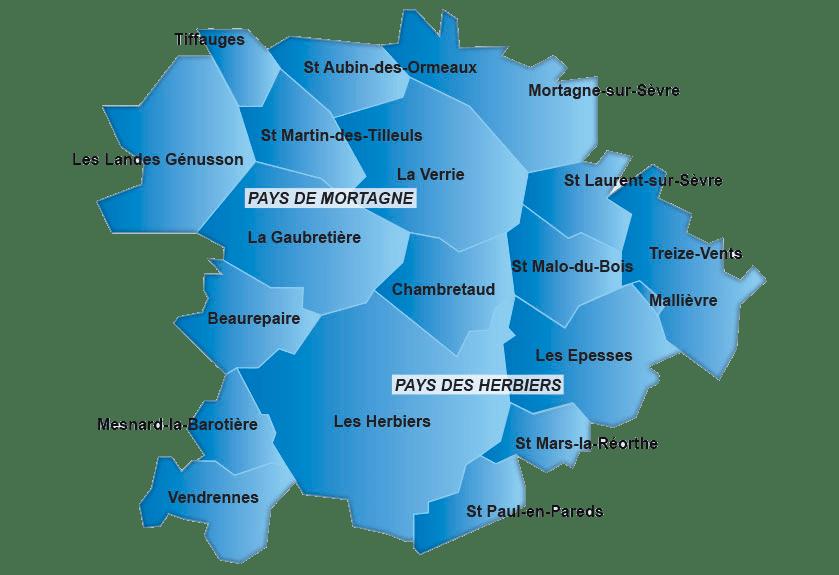carte territoire emploi novaliss vendée
