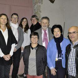 Inauguration des bureaux NovaliSs aux Herbiers en présence de Véronique Besse et Gérard Hérault