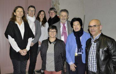 Véronique Besse, Gérard Hérault présents à l'inauguration NovaliSs
