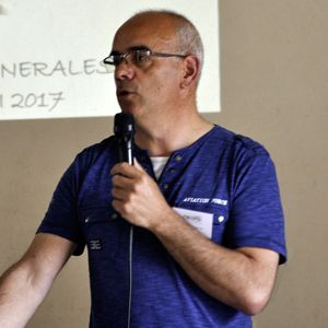 Jean-François Guitton, président de Novaliss, lors de l'assemblée générale 2017 de l'association.