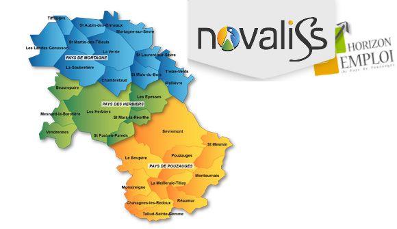 Novaliss et Horizon Emploi : la réunion des pays des Herbiers, de Mortagne sur Sèvre et de Pouzauges