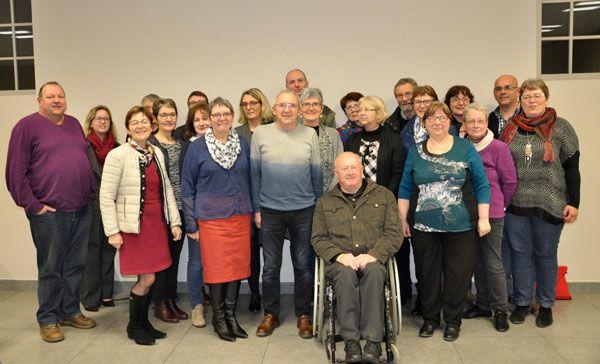 23 janvier 2018 : élection du nouveau Conseil d'Administration de NovaliSs aux Herbiers.